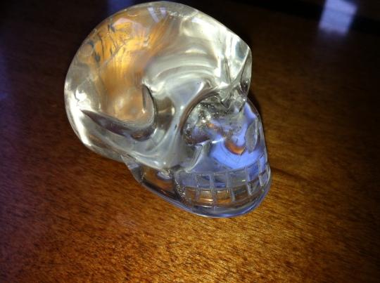 Small Quartz Skull