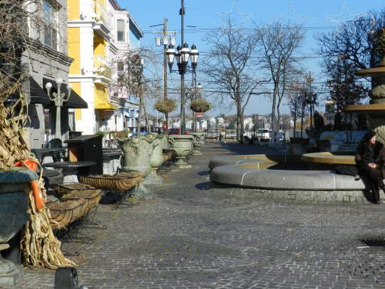 Partial View of DePasquale Square