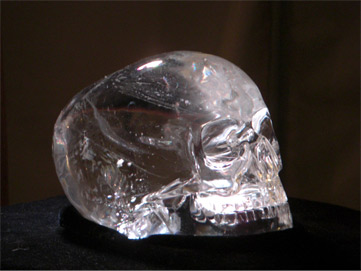 Mitchell hedges crystal skull explorations in spirit with dr mitchell hedges skull fandeluxe Image collections