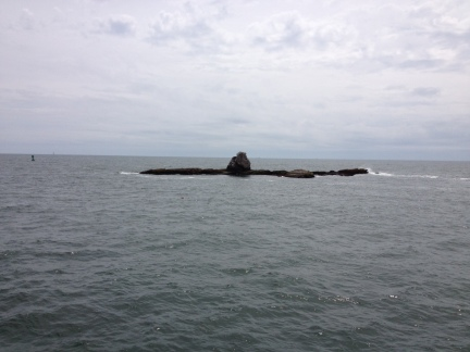 Remnants of Whale Rock Light
